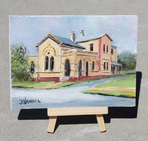 morpeth gallery hunter valley john vander morpeth bicentenary post office vet icon building heritage sandstone founded