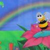 Children's Book Original - Bumble the Bee Dancing -
