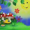 Children's Book Original - Bumble the Bee - Summer -