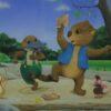 Children's Book Original - Willow the Wombat & Friends Dancing -