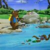 Children's Book Original - Willow the Wombat at the River -